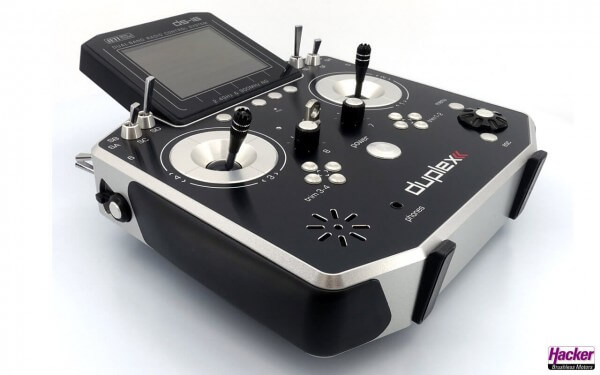 JETI Handsender DS-16 II Silver Multimode · incl. Rex 10 Empfänger und Alukoffer