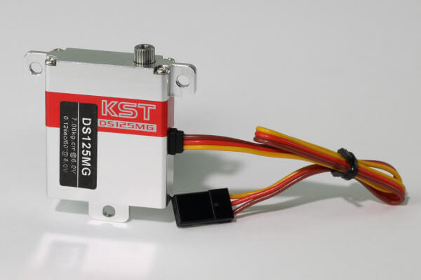 KST DS 125 MG · 10 mm digitales HV-Servo bis 70 Ncm